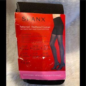 NIP SPANX Tight-End Tights Black Gray Size B